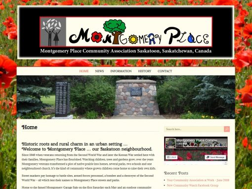 Montgomery Place Website