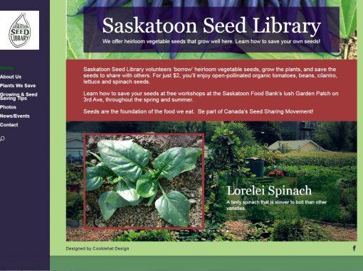 Saskatoon Seed Library Website