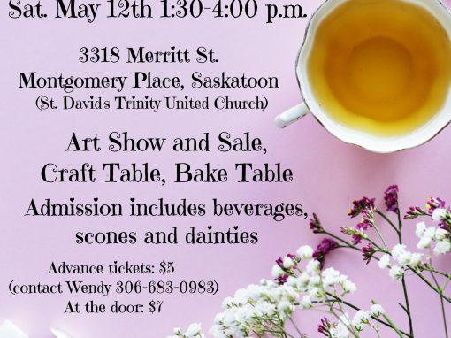 Church Tea & Art Show Poster