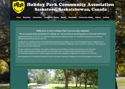 Holiday Park Website