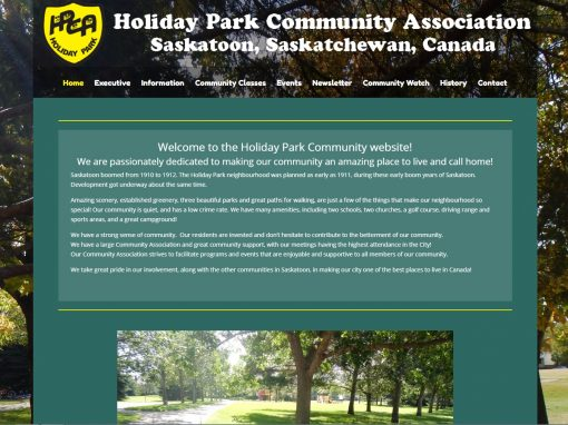 Holiday Park Website