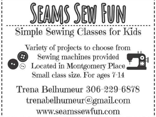Seams Sew Fun Ad