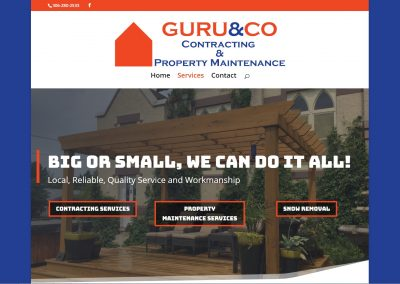Guru & Co Website
