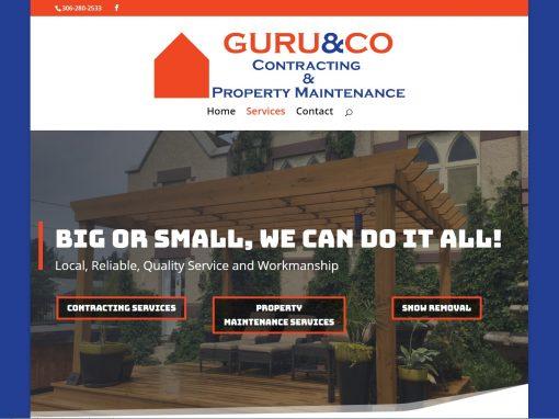 Guru & Co Website